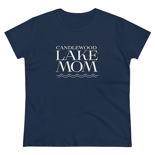 Candlewood Lake Mom on Women's Heavy Cotton T