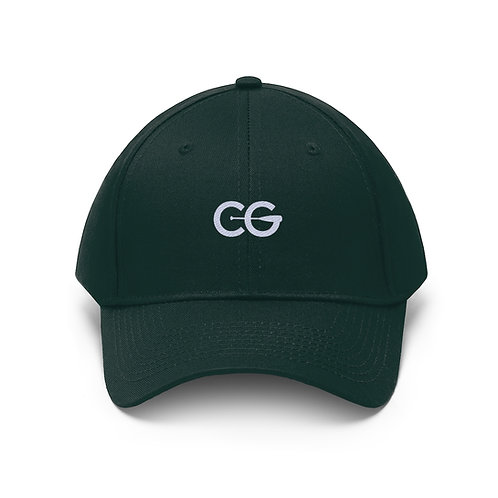 CG mini logo Unisex Twill Hat