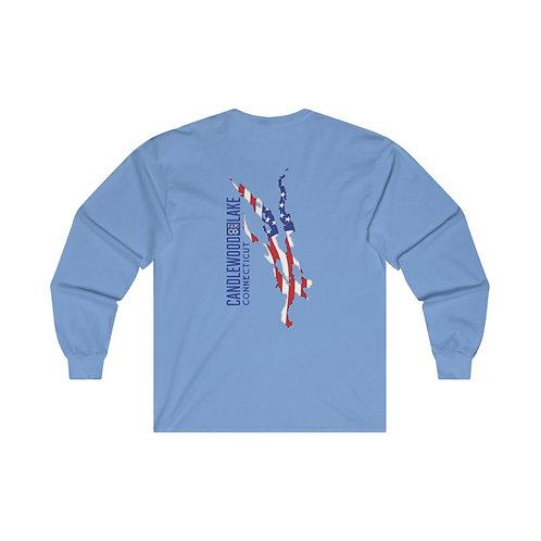 Lake Flag Ultra Cotton Long Sleeve Tee
