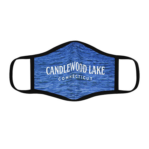 Candlewood Lake Fitted Polyester Face Mask
