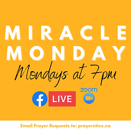 Miracle Monday church service info