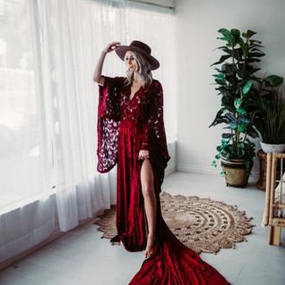 Velvet- Red