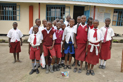 Students at the Sargy School