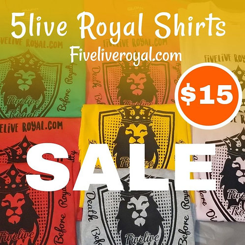 5live Royal Shirt's