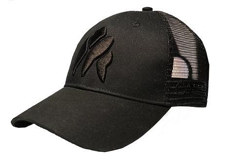 Black On Black Gorilla Trucker Cap