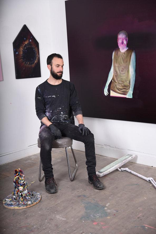 Erwann Tirilly peinture