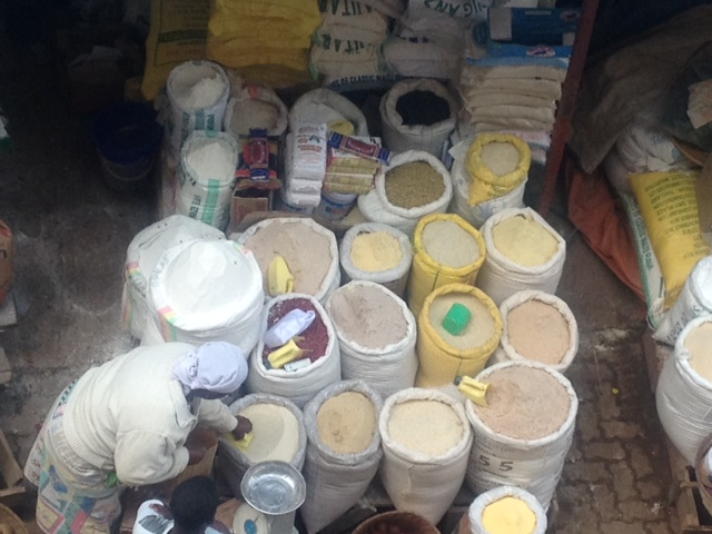 Huye grain market