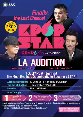 SBS 'Kpop Star' Holding U.S. Auditions in September