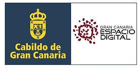 Logo Gran Canaria Espacio Digital y Cabildo Gran Canaria