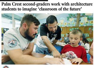 Students Make Local News