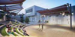 performance courtyard