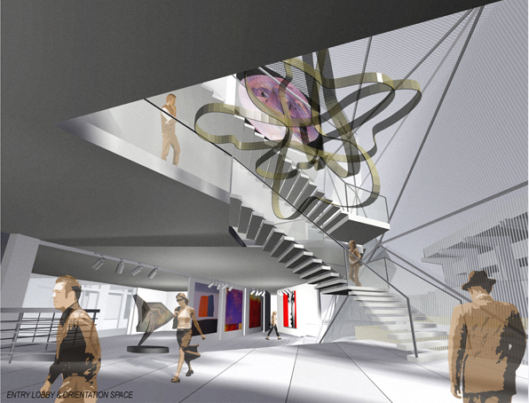 lobby & gallery