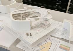 concert hall study model