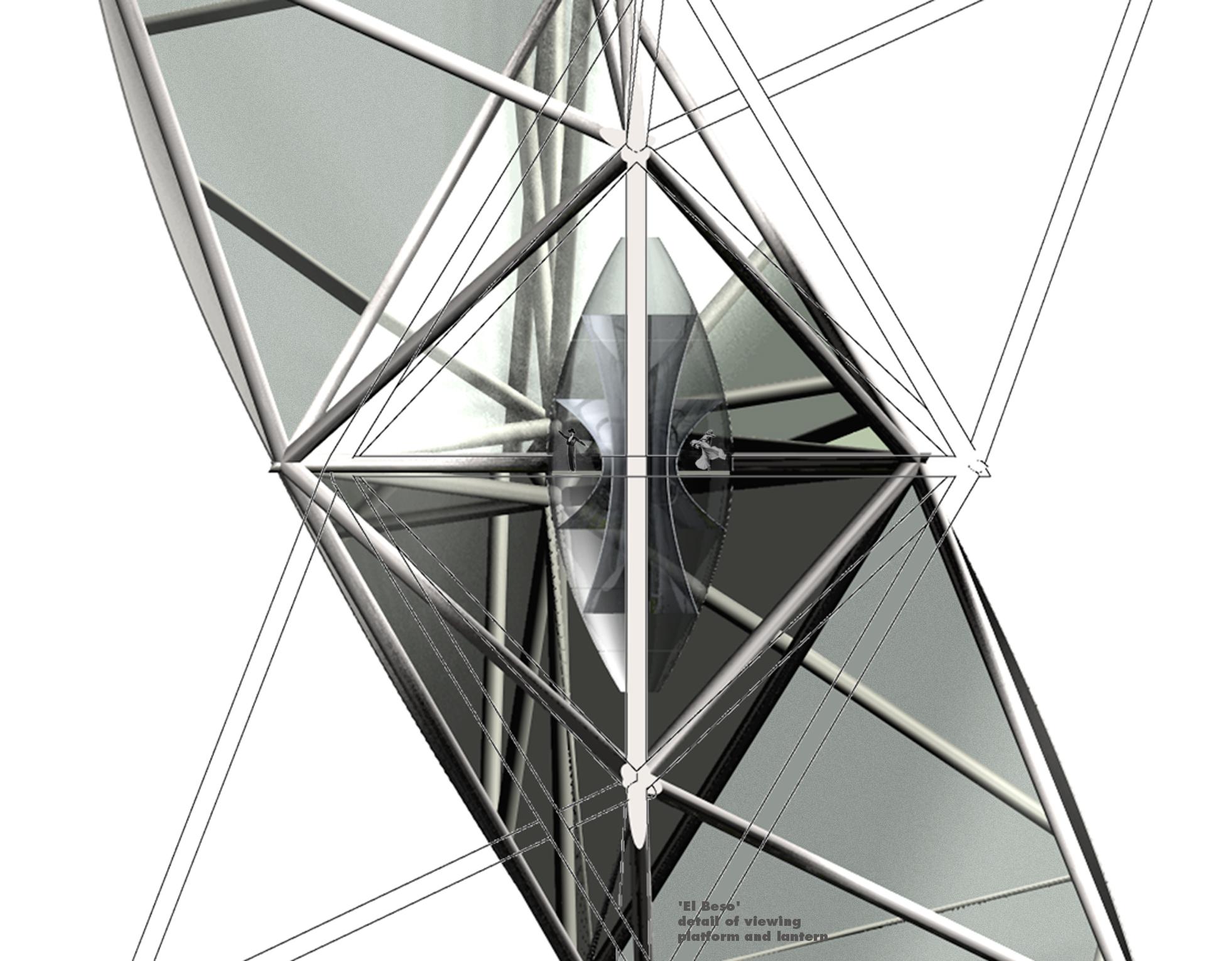 observation platform closeup