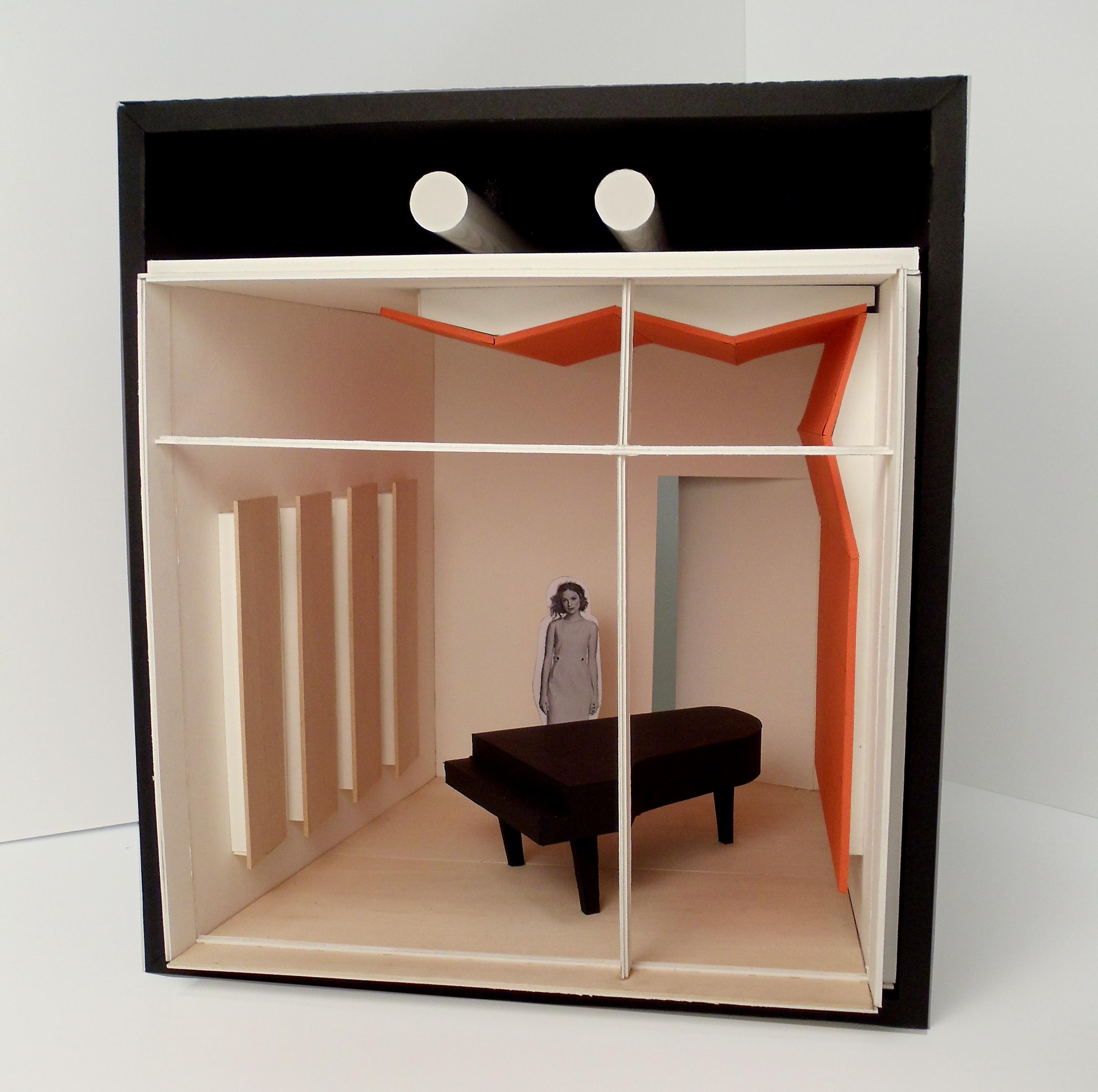 model of practice room