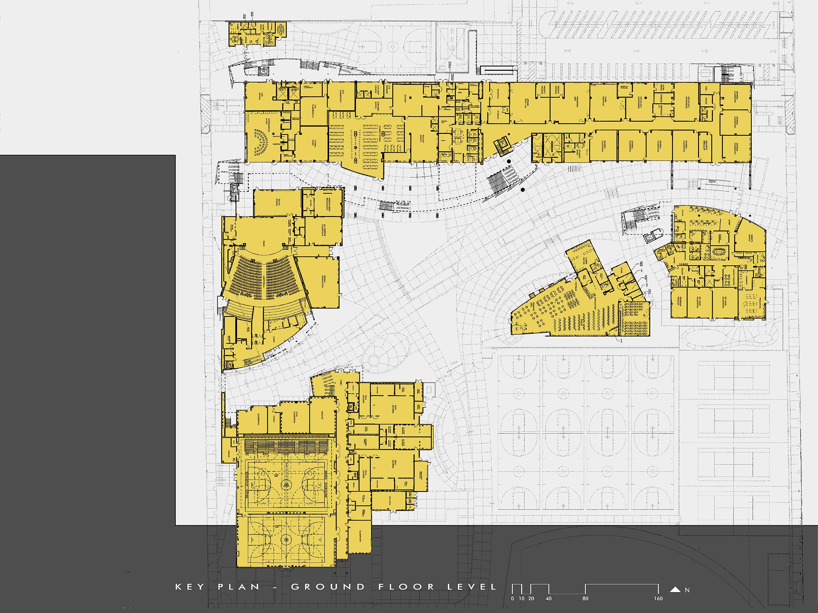 site _ ground level plan