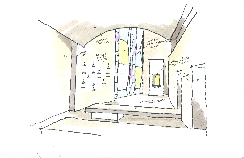 chapel sketch