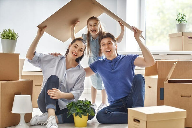 Happy-Family-Building-New-House-Roof-Ser