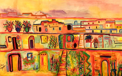 Taos Watercolor
