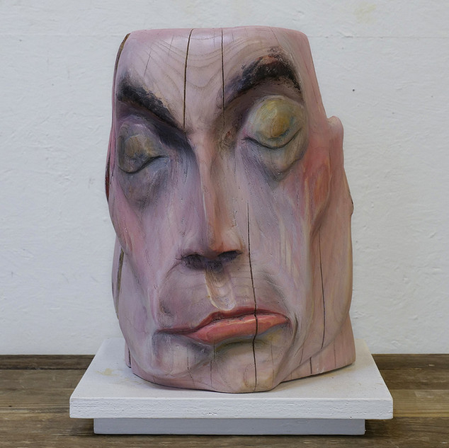 Head, Private collection