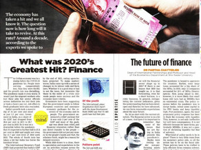 The future of Finance: Will 2021 see spectacular highs or dismal lows like 2020?