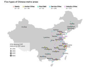 New Approach to Chinese City Segmentation