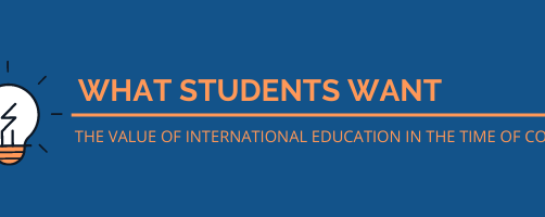 What Students Want: The Value of International Education in the Time of COVID19