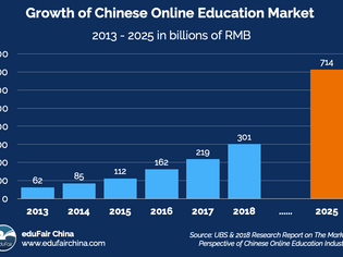 Rapid Growth in the Chinese Online Education Market
