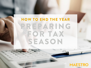 How to End the Year // Preparing for Tax Season