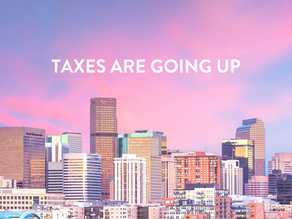 Taxes are going up