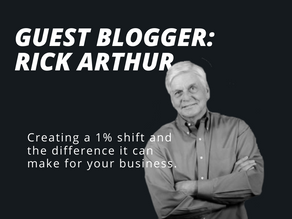 Guest Blogger: Rick Arthur's Three Habits That Can Shift Your Company's Outcome