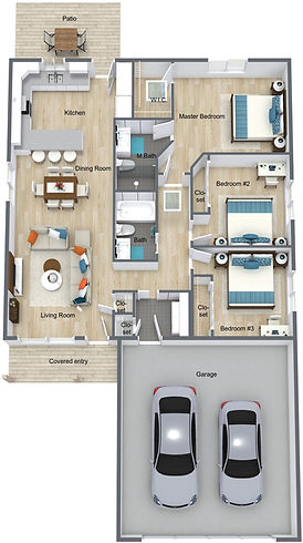 The J - Main Level - 3D Floor Plan.jpg