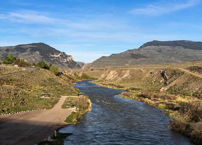 Shoshone River Cody WY