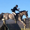 Jake Jumping Tidewell with a Broken Wrist!