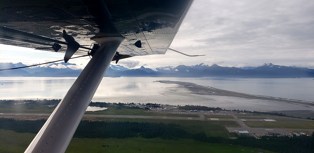 Kachemak Bay on a 1.3 ft rising tide. Photo Credit: Kelsey Childers