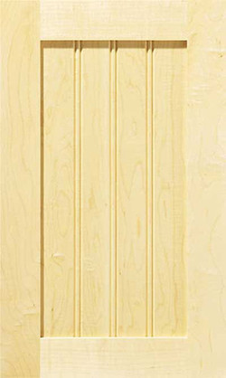 Beaded panel - Maple