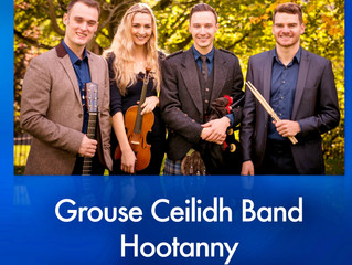 Grouse Ceilidh Band play Hoots in Inverness