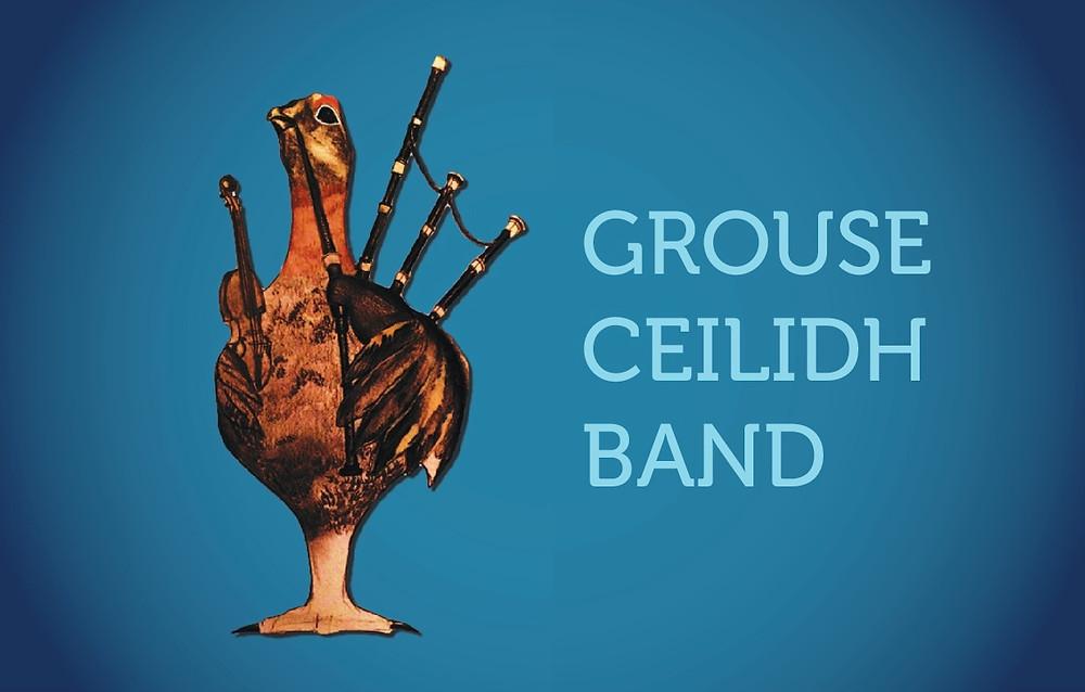 Grouse Ceilidh Band Business Card