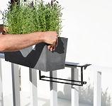 ECOPOTS planter and flower pot Hanging Bruges for balcony