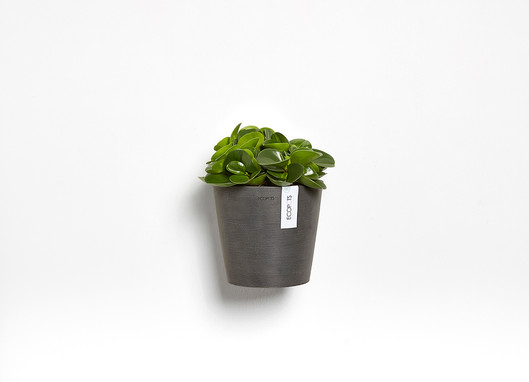 Ecopots Amsterdam Wall in Dark Grey