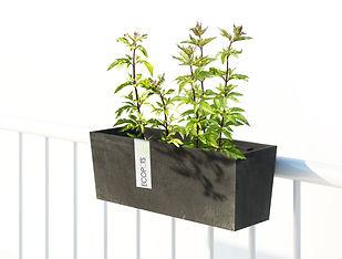 ECOPOTS Hanging Bruges 55 cm planter and flower pot