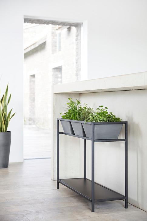 Ecopots Berlin Herbtable in Grey