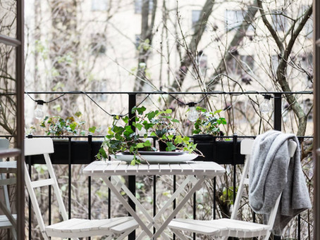 PLANTS + DESIGN: Spruce up your outdoor urban space for spring – (PART 1)