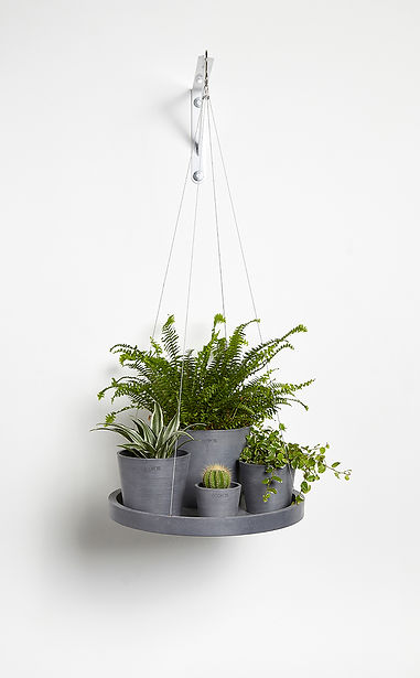 Ecopots Hanging saucer - product shot 3.