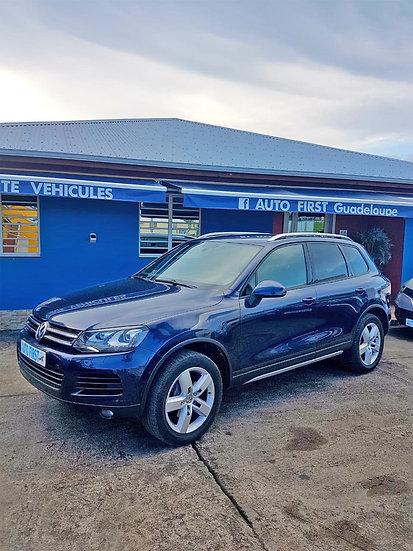 Volkswagen Touareg : vue profil gauche