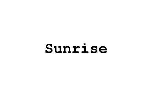 Sunrise Blend