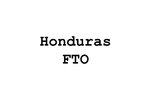 Honduras Marcala, FTO