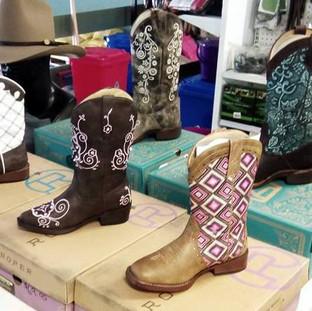 Children's western boots