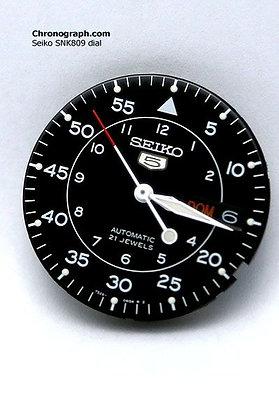 SNK809 dial