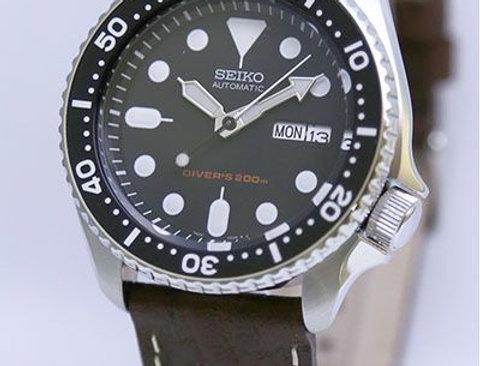 Seiko SKX007K-Lbr